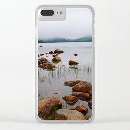 Acadia Fog - Acadia National Park Clear iPhone Case