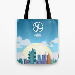 Space Up Tote Bag