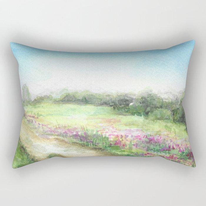 Willow-herb Rectangular Pillow