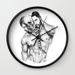 Split Spooky NOODDOOD Wall Clock