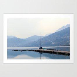 Lake III Art Print