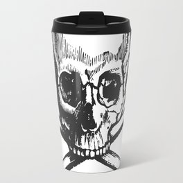 Skull and bones pirate Travel Mug