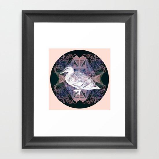 Le canard Framed Art Print