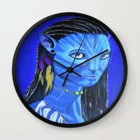 avatar Wall Clocks featuring Avatar by maggs326