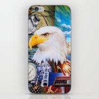 eagle iPhone & iPod Skins featuring Eagle by John Turck