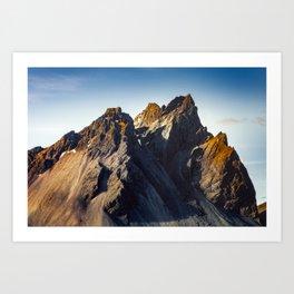 Vestrahorn - Iceland (RR368) Art Print