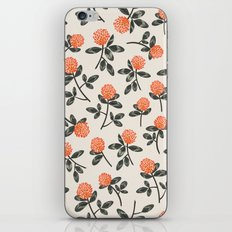 Red Clover iPhone & iPod Skin