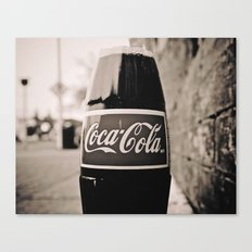 Coca-Cola closer Canvas Print