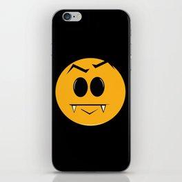 Vampire Smilie iPhone Skin