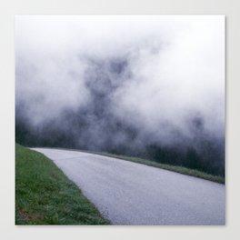 cloud walking Canvas Print
