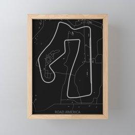 Road America Framed Mini Art Print