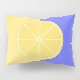 Lemon Contrast Pillow Sham