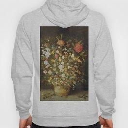Jan Brueghel (I) (atelier) - Still life with flowers (1600-1630) Hoody