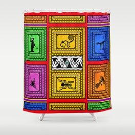 Nazca Shower Curtain