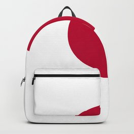Classic Civil and state flag and ensign of Japan Backpack