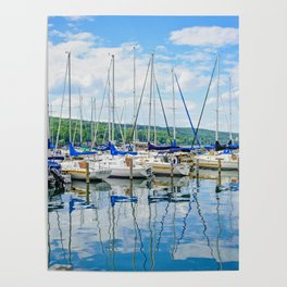 Glen Harbour Marina Poster