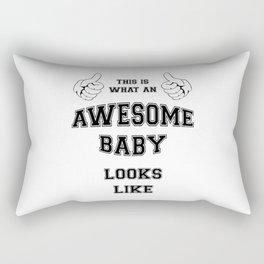 AWESOME BABY Rectangular Pillow