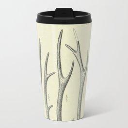 Vintage Antlers Travel Mug