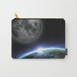 Earth and moon Carry-All Pouch