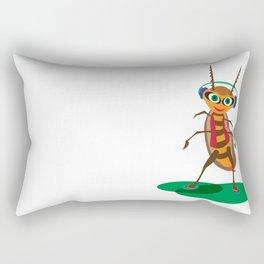 Happy Bug Rectangular Pillow