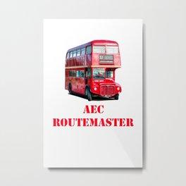 AEC Routemaster London Bus Metal Print