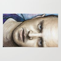 jesse pinkman Area & Throw Rugs featuring Jesse by Olechka