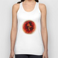 targaryen Tank Tops featuring Sauron The Dark Lord by neutrone