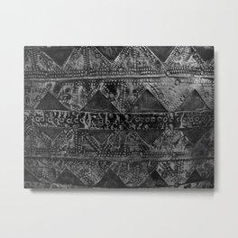 banded tin Metal Print