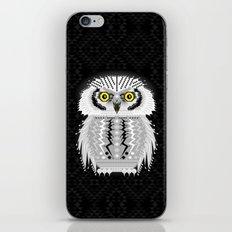 Geometric Snowy Owl iPhone & iPod Skin
