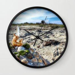 Sunny Castle Wall Clock