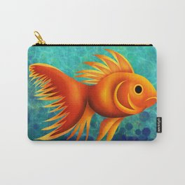 gold fish Carry-All Pouch