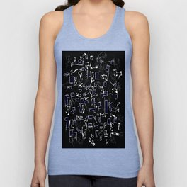 Perfect abstraction Unisex Tank Top