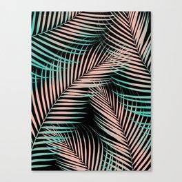 Palm Leaves - Cali Vibes #2 #tropical #decor #art #society6 Canvas Print