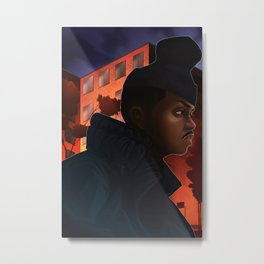 It aint hard to tell Metal Print