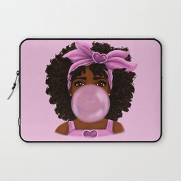 Bubble Gum Portrait Laptop Sleeve