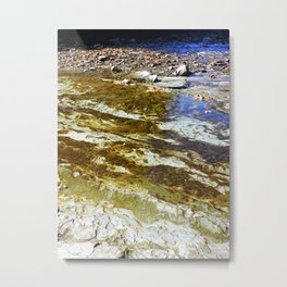 Meandering River Metal Print