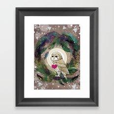 The Great Owl Framed Art Print