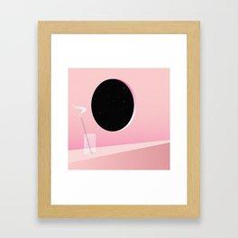 The World Outside Framed Art Print