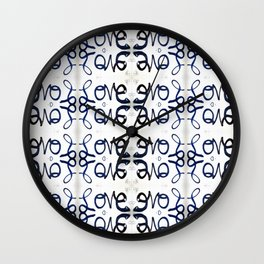 love in all directions Wall Clock