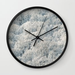 Winter Is Here Wall Clock