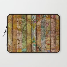 Around the World in Thirteen Maps Laptop Sleeve