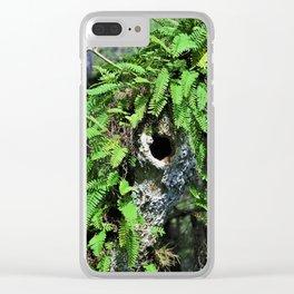 In High Regard- horizontal Clear iPhone Case