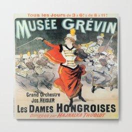 Vintage poster - Musee Grevin Metal Print