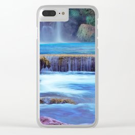 The Pools of Havasupai Falls - Revisited Clear iPhone Case