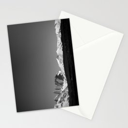 Torres del Paine Black and White Stationery Cards