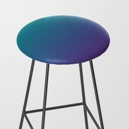 Ombre | Teal and Purple Bar Stool