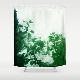 Spring Fresh Rain Shower Curtain