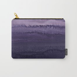 WITHIN THE TIDES ULTRA VIOLET by Monika Strigel Carry-All Pouch