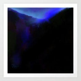 Break of Dawn on the Ridge Art Print