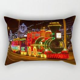 Blackpool tram Rectangular Pillow